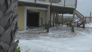 Download Hurricane Florence - Initial Storm Surge and Winds Video