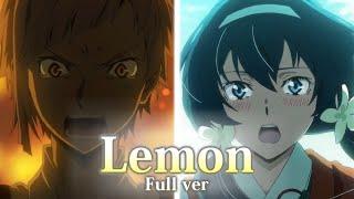 Download 【文豪ストレイドッグスMAD】「 Lemon 」泉鏡花 / 中島敦(Full ver.) Video