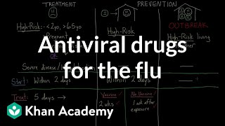 Download Antiviral drugs for the flu | Infectious diseases | Health & Medicine | Khan Academy Video