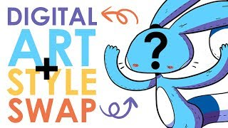 Download DIGITAL ART and STYLE SWAP w/ LavenderTowne - You Asked For It! Video
