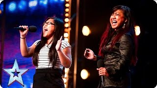 Download Ana and Fia's emotional duet gives us the chills | Auditions Week 6 | Britain's Got Talent 2016 Video
