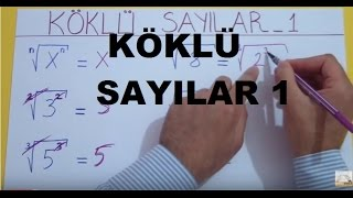 Download KÖKLÜ SAYILAR 1 - Şenol Hoca Video