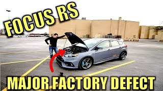 Download The Ford Focus RS Engine is Seriously Bad & Ford Had to Know. This one Locked Up! Video
