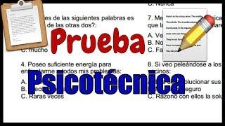 Download PRUEBA PSICOTÉCNICA - Ejercicios Resueltos Video