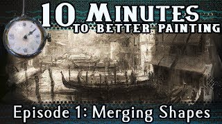 Download Merging Shapes - 10 Minutes To Better Painting - Episode 1 Video