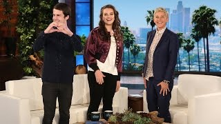 Download '13 Reasons Why' Stars Katherine Langford and Dylan Minnette's Talk Show Debut Video
