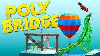 Download Building Bridges That Should Be Illegal in Poly Bridge Video