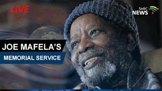 Download Memorial service for legendary actor Joe Mafela, 27 March 2017 Video