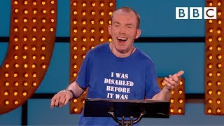 Download Britains Got Talent winner has audience LITERALLY crying with laughter 😂 | Live At The Apollo - BBC Video