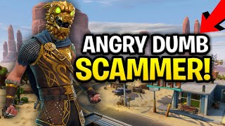 Download Angry Lying Dumb Scammer Scams Himself! (for 130s) (Scammer Get Scammed) Fortnite Save The World Video