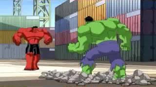 Download Os Vingadores Hulk verde vs Hulk Vermelho Video