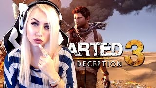 Download Uncharted 3: Drake's Deception Playthrough LIVE #1 (Uncharted Games Marathon-FIRST TIME) PS4 Pro Video
