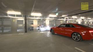 Download Semi-Automatic Car Parking System WÖHR Combilift 542 Video