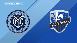 Download HIGHLIGHTS: New York City FC vs. Montreal Impact | July 11, 2018 Video