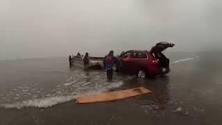 Download Part 5 Jeep Rescue off Sandbar Video