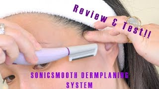 Download SONICSMOOTH by Michael Todd Beauty - Dermaplaning System REVIEW & TEST! Video