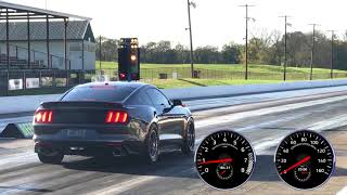 Download 9.17@148 - Twin Turbo Mustang GT with Stock Engine! Video