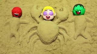 Download Chase Paw Patrol Playing in the Sand Castles Superhero Babies Stop Motion Cartoons for kids Video