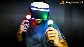 Download PSVR DEMO GAMES - Checking Out PSVR Demo Games - What Games To Buy Video
