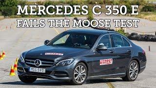 Download Moose test Mercedes C 350 e (Hybrid) 2015 [Poor result] Video