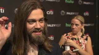 Download Tom Payne says he gets teased by Norman Reedus on The Walking Dead's set Video