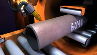 Download CNC cutting machine | Pipe and profile cutting, beam coping, square profiling | All Profile Cutter Video