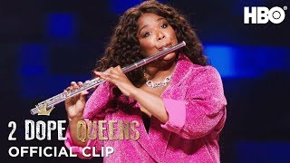 Download Lizzo's Flute & Twerk Lesson | 2 Dope Queens | Season 2 Video