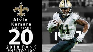 Download #20: Alvin Kamara (RB, Saints) | Top 100 Players of 2018 | NFL Video