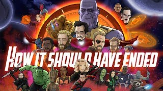 Download How Avengers Infinity War Should Have Ended - Animated Parody Video