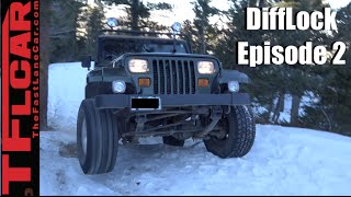Download Two Jeeps & a Toyota Take on a Snowy Gold Mine Hill - DiffLock Ep. 2 Video