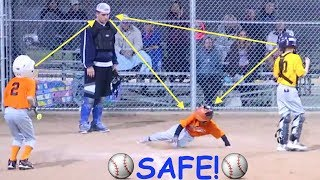 Download ⚾️Boy Steals Home and Scores at Baseball Game!⚾️ Video