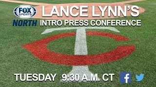 Download Lance Lynn's first Twins press conference Video