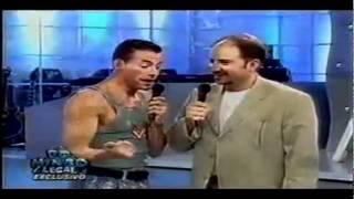 Download VAN DAMME - Imitates Stallone, Seagal, Arnold and Him self + Karate Demonstration Video