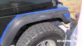 Download How To: Paint Fender Flares on a 1997 - 2006 Jeep Wrangler TJ - GetJeeping Video