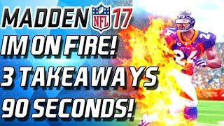 Download IM ON FIRE! 3 INTERCEPTIONS IN 90 SECONDS - Madden 17 Ultimate Team Video