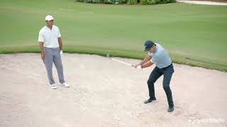 Download Bunker Technique with Tiger Woods & Jason Day | TaylorMade Golf Video