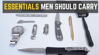Download Top 5 EDC Accessories Every Man Should Carry Video