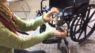 Download How to adjust and remove elevating leg rests Video