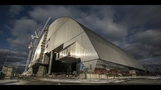 Download TIMELAPSE L'arche de confinement de Tchernobyl en place (HD) Video