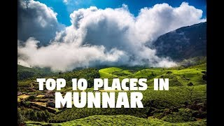 Download Top 10 Places to Visit in Munnar Video