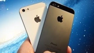 Download Apple iPhone 5 (White vs Black): Unboxing & Tour Video