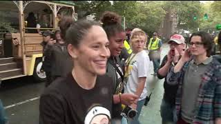 Download Seattle Storm celebrate their championship win Video