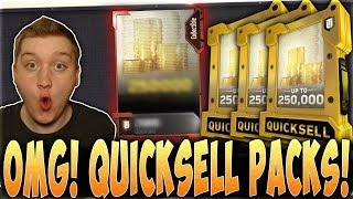 Download OMG! QUICKSELL PACKS!! | OVER 2 MILLION COINS POSSIBLE! | MUT 18 QUICKSELL PACK OPENING Video