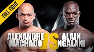Download ONE: Full Fight | Alexandre Machado vs. Alain Ngalani | Grappling Showcase | August 2016 Video