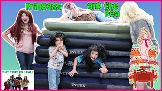 Download PRINCESS AND THE PEA - BED CHALLENGE / That YouTub3 Family Video