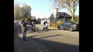 Download Harley Davidson Chopper vs. Sport Bike Race Video