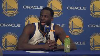 Download Draymond Green is pissed off at lack respect for Warriors' defense Video
