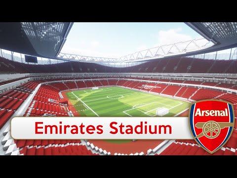 mercedes benz stadium minecraft. Minecraft - MEGABUILD Emirates Stadium (Arsenal) + DOWNLOAD [Official] Mercedes Benz