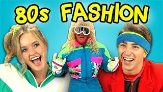 Download TEENS REACT TO 80's FASHION Video
