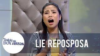 Download TWBA: Lie shows off her singing talent Video